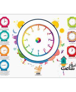 پوستر آموزش ساعت